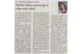 Politiko lahko spremenijo le odgovorni volivci. Št. 10/2011, str. 13.