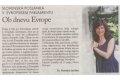 Ob dnevu Evrope. Št. 6/2012, str. 15.